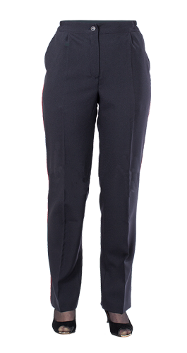 Брюки ПОЛИЦИЯ летние женские, ткань габардин, Форменные брюки - арт. 371680347