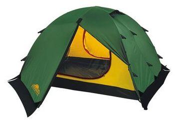 Универсальная двухместная туристическая палатка с двумя входами и двумя тамбурами Alexika Rondo 2 Plus зеленый, Палатки двухместные - арт. 264430320