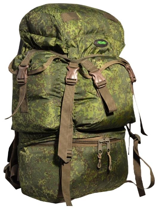 Рюкзак PRIVAL Бобёр 55, камуфляж цифра