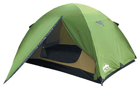 Купить Трехместная туристическая палатка KSL Spark 3 зеленый