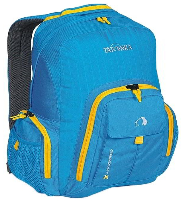 Городской рюкзак с множеством карманов Tatonka Kangaroo 1601.194 bright blue