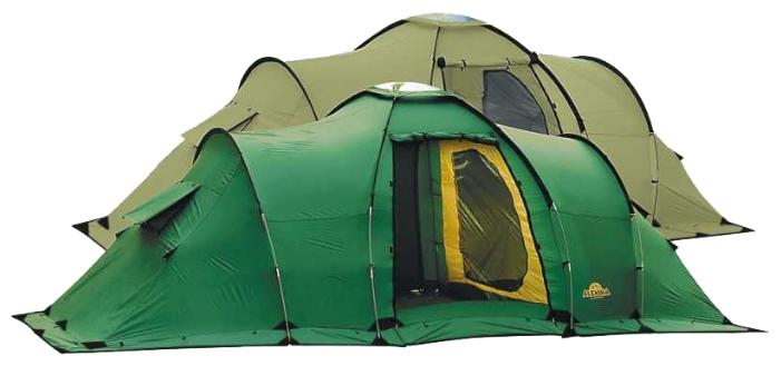 Палатка MAXIMA 6 LUXE green, 620x240x210, Палатки 5+местные - арт. 264340323