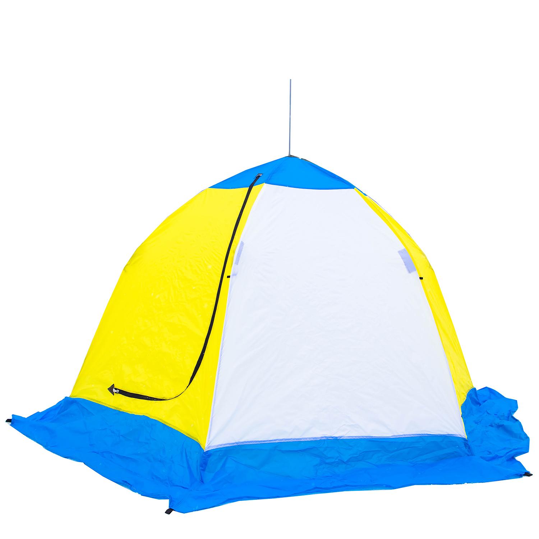 Палатка-зонт зимняя СТЭК  ELITE  (3 местная) дышащая, Палатки для охоты и рыбалки - арт. 1128240375