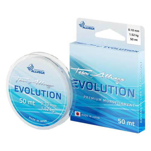 """Леска монофильная ALLVEGA """"Evolution"""" 50м 0,05мм (0,42кг)"""