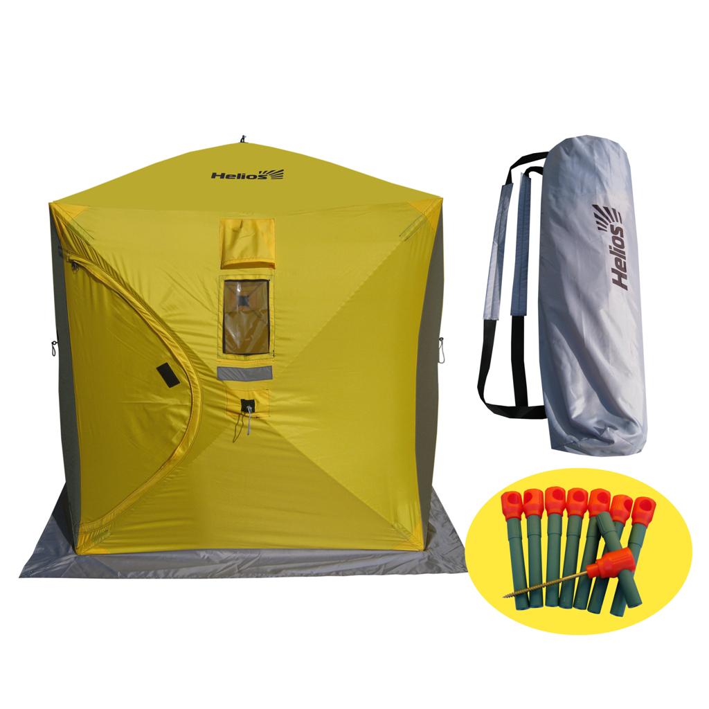 Палатка-куб зимняя Helios (1,5х1,5), Палатки для охоты и рыбалки - арт. 1128280375