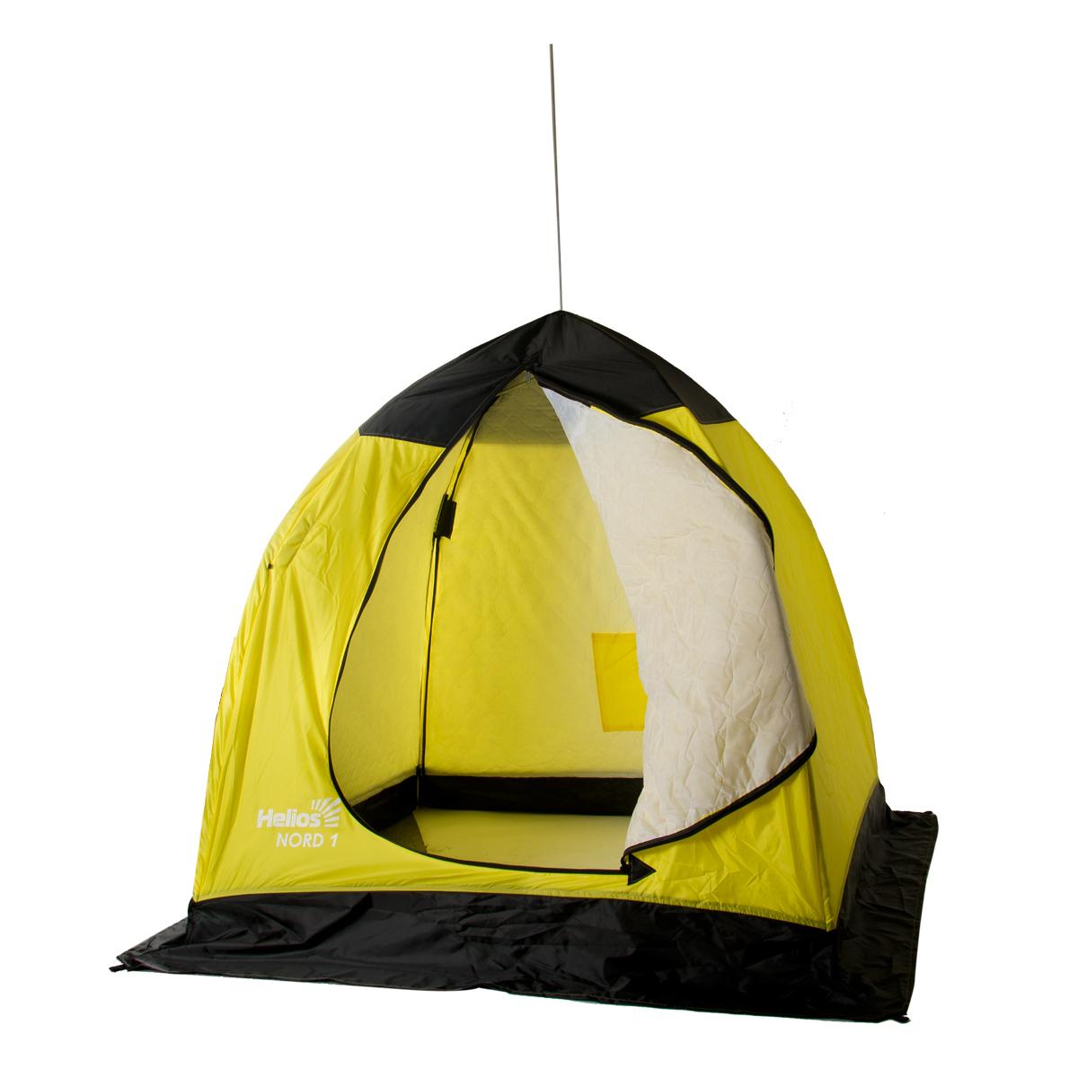 Палатка-зонт зимняя утепленная NORD-1 Helios (1-местная), Палатки для охоты и рыбалки - арт. 1128250375