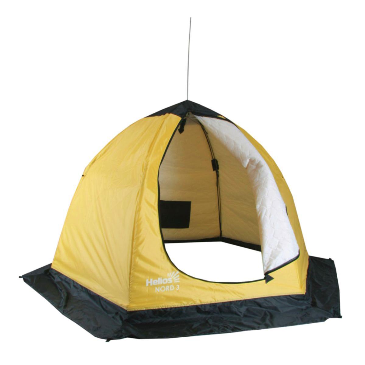 Палатка-зонт зимняя утепленная NORD-3 Helios (3-местная), Палатки для охоты и рыбалки - арт. 1128270375