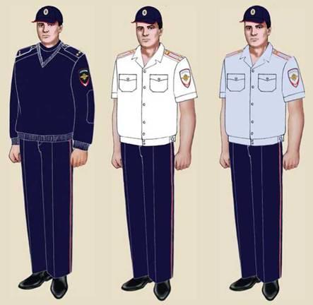 Платье женское форма полиции