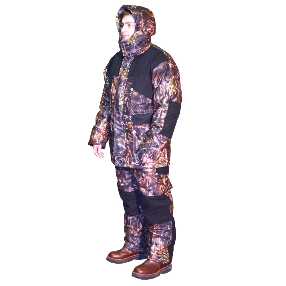 Костюм для зимней охоты и рыбалки Байкал-1 Тёмный лес, Зимние костюмы - арт. 974540258