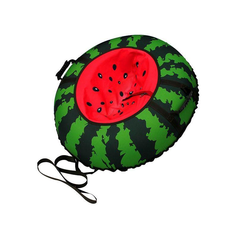 Санки-ватрушка тюбинг Митек Арбуз 110 см, Санки, тюбинги - арт. 974730437
