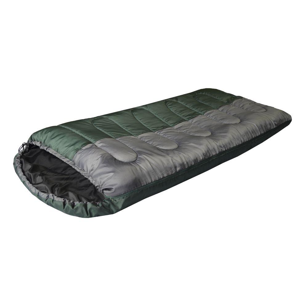 Camp bag + спальный мешок цвет зеленый