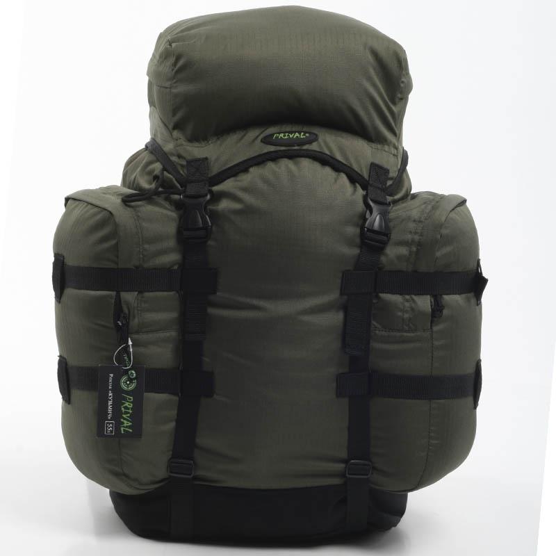 Рюкзак PRIVAL Кузьмич 55 зеленый