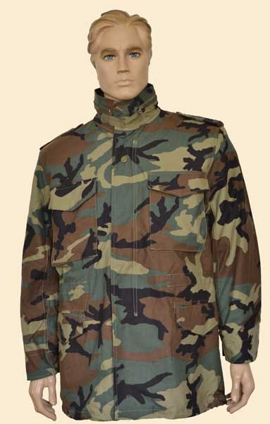 Куртка Propper М-65 Woodland c подстегом, Тактические куртки - арт. 892410335