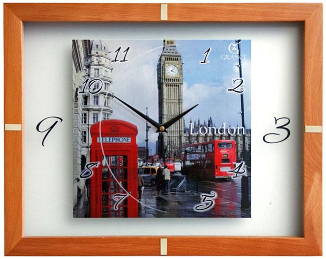 Купить Настенные часы Grance S-London, Форма одежды