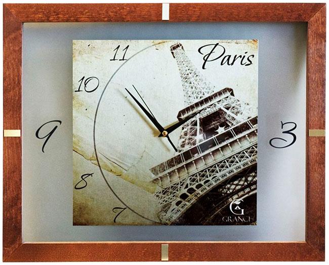 Купить Настенные часы Grance S-Paris, Форма одежды