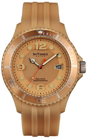 Купить Наручные мужские часы InTimes IT-090 Beige