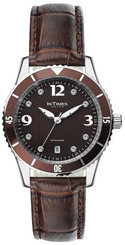 Купить Наручные женские часы InTimes IT-1052L Dark brown