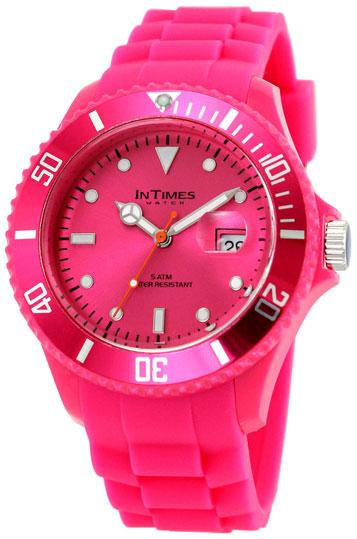 Купить Наручные часы унисекс InTimes IT-057 Flora Pink