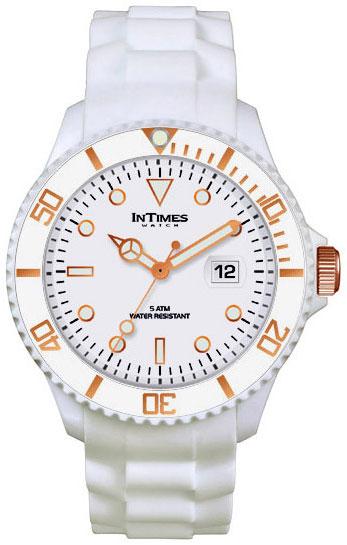 Купить Наручные часы унисекс InTimes IT-057G White