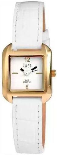 Купить Наручные часы женские Just 48-S10103-WH-GD