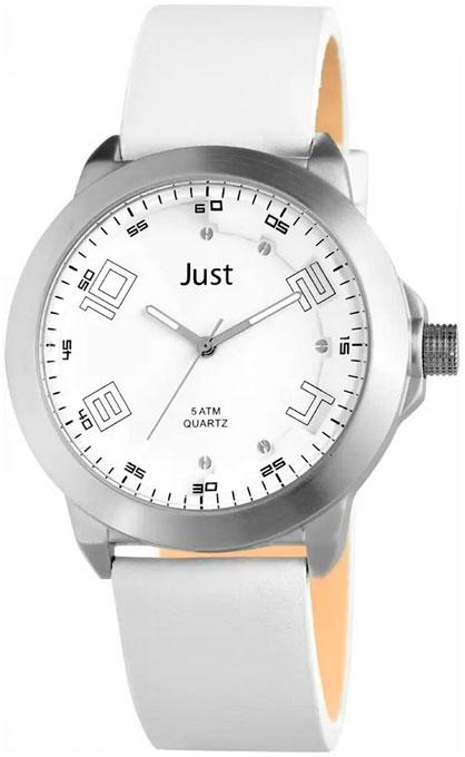 Купить Наручные часы мужские Just 48-S10314ST-WH