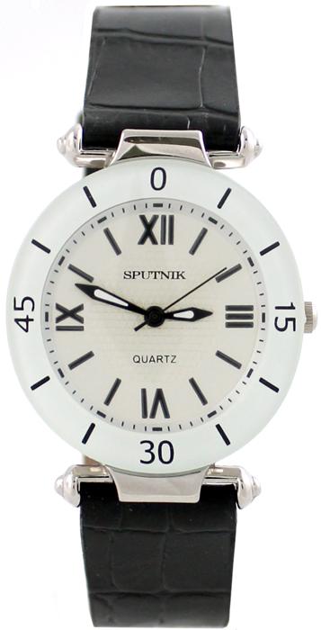 Женские наручные часы Спутник Л-200391/1.4 (сталь) ч.р.