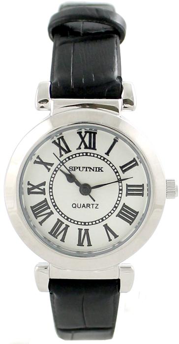 Женские наручные часы Спутник Л-200621/1 (сталь) ч.р.