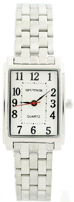 Женские наручные часы Спутник Л-800010/1 (сталь)