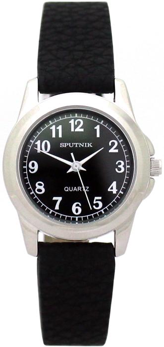Женские наручные часы Спутник Л-200930/1 (черн.) ч.р.