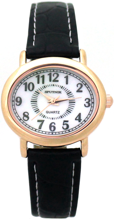 Женские наручные часы Спутник Л-200970/8 (перл.) ч.р.