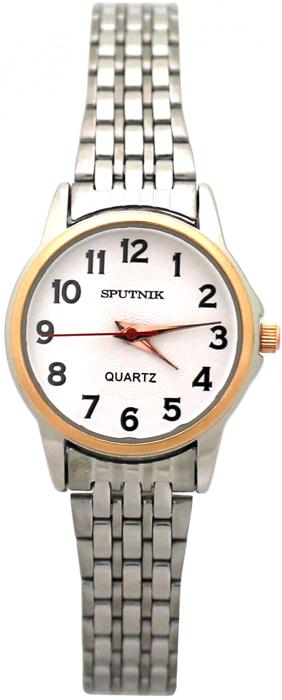 Женские наручные часы Спутник Л-800000/6 (сталь)