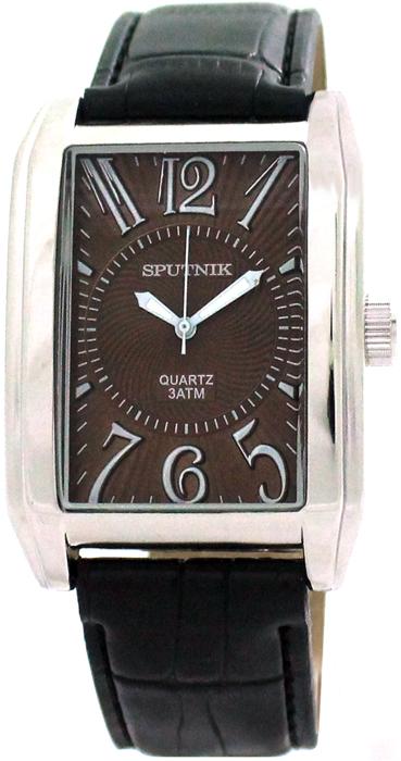 Мужские наручные часы Спутник М-857670/1 (корич.)