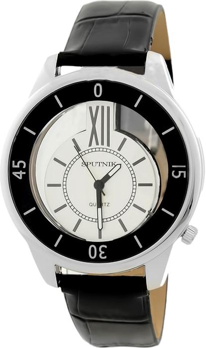Женские наручные часы Спутник Л-300111/1.3 (сталь) ч.р.