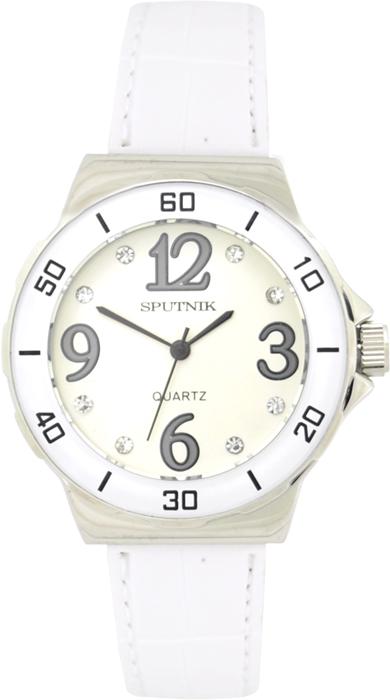 Женские наручные часы Спутник Л-300312/1.4 (сталь) б.р.