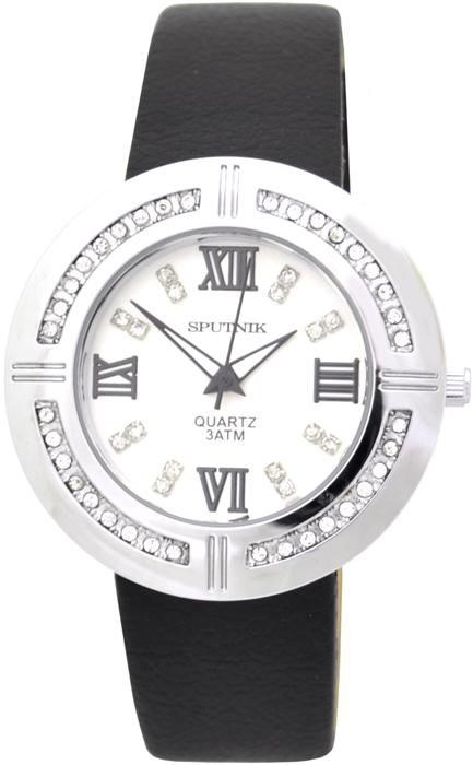 Женские наручные часы Спутник Л-300511/1 (сталь) ч.р.