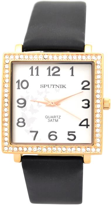 Женские наручные часы Спутник Л-300670/8 (сталь) ч.р.