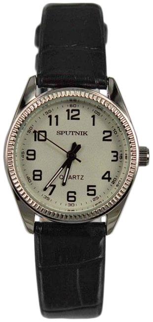 Женские наручные часы Спутник Л-200810/1 (сталь) ч.р.