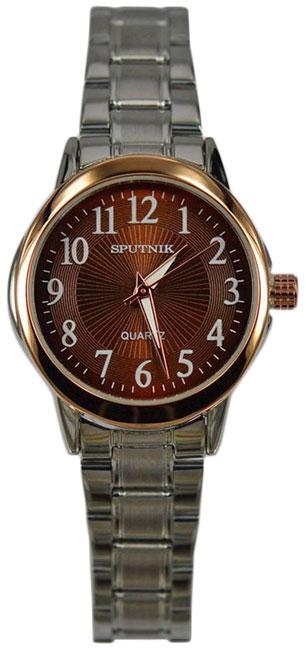 Женские наручные часы Спутник Л-800030/1 (корич.)