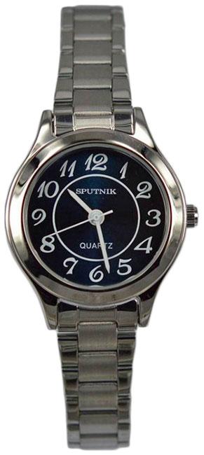 Женские наручные часы Спутник Л-800060/1 (син.)