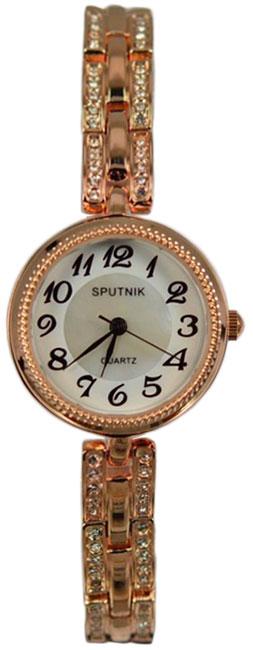 Женские наручные часы Спутник Л-900790/8 (бел.+перл.)