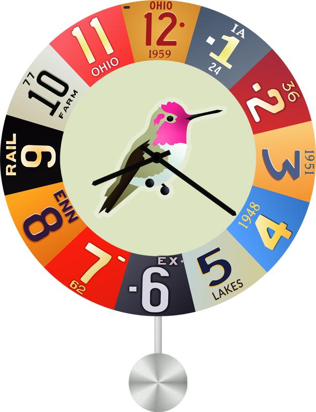 Настенные часы SvS 4012947