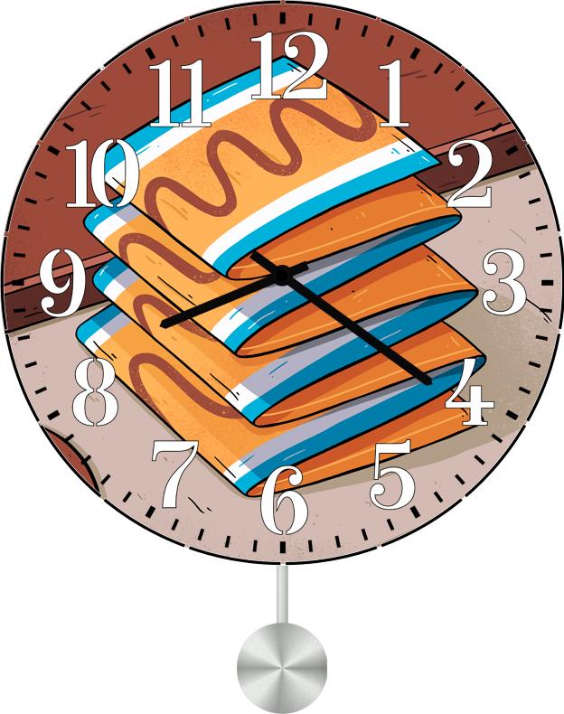 Настенные часы SvS 6011693