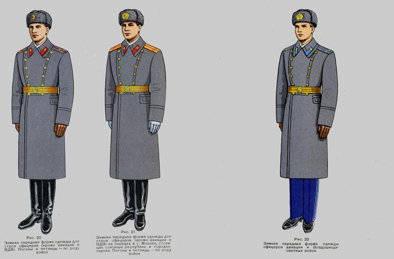 Картинки парадная форма сухопутных войск ссср