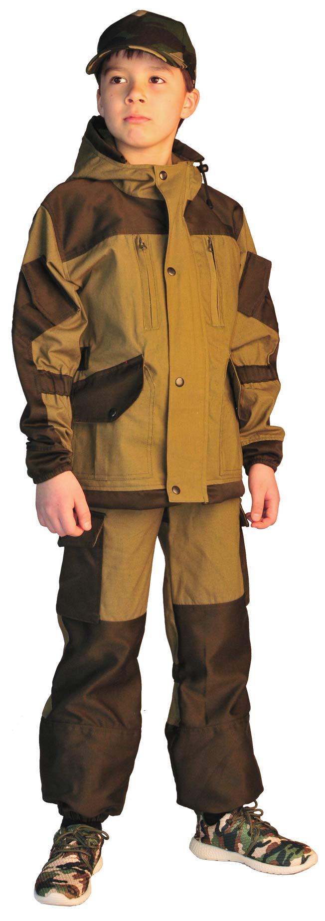 Костюм детский Горка-5 летний палатка 235 г/м2 хаки 100% хлопок, Летние костюмы - арт. 1019800260