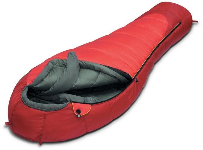 Мешок спальный ICELAND красный, левый