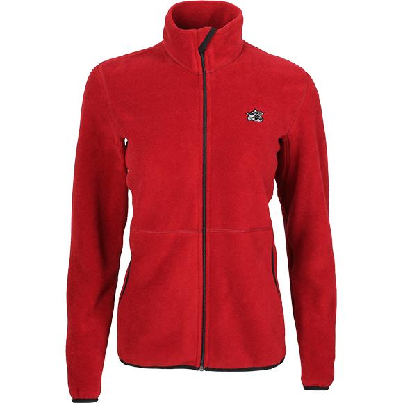 Куртка флисовая женская мод.2 бордо