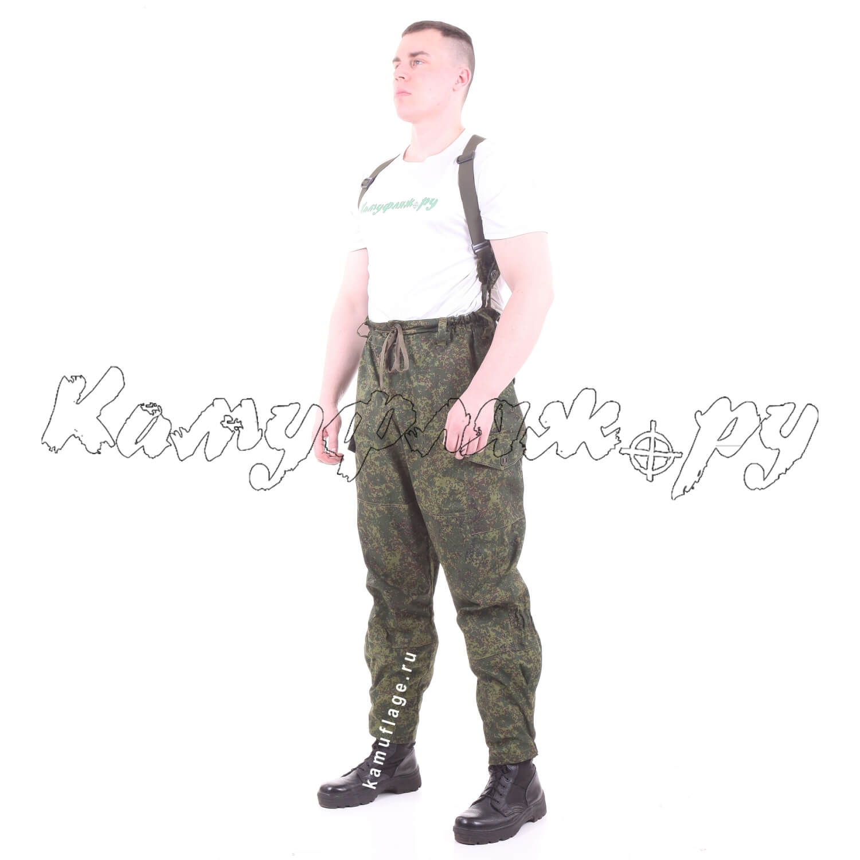 Брюки Горка-3 рип-стоп ЕМР, Ботинки с высокими берцами - арт. 1013790245