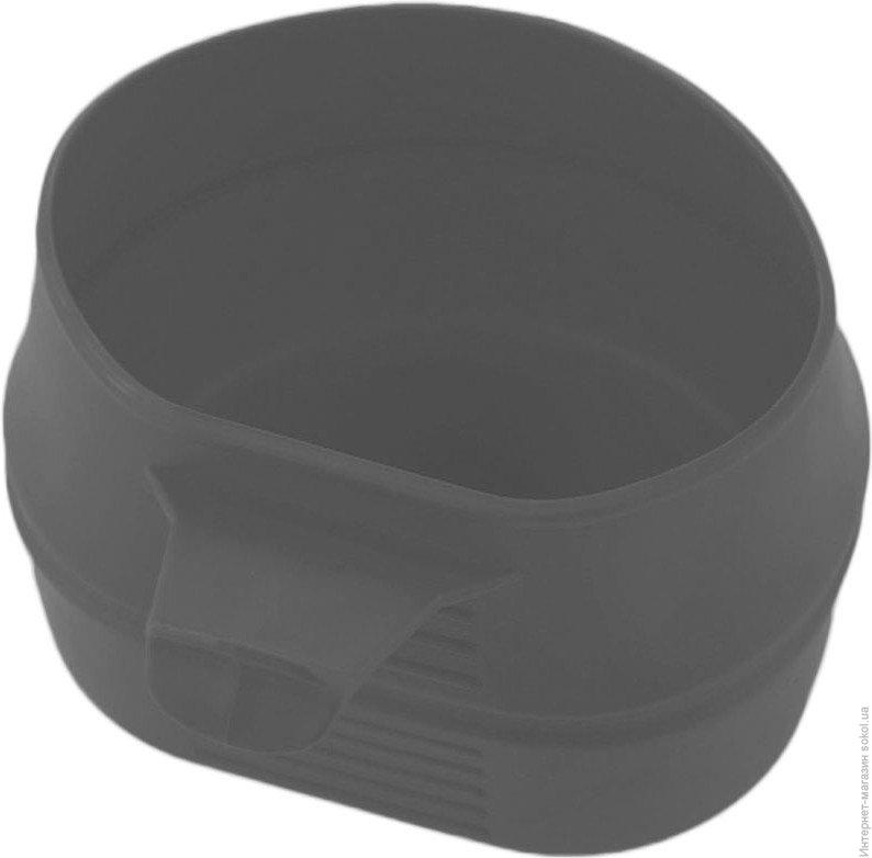 Кружка складная, портативная FOLD-A-CUP® DARK GREY, W10105