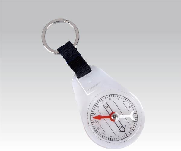 Брелок Компас с кольцом для ключа (упак=10 шт), 3160 - артикул: 281070386