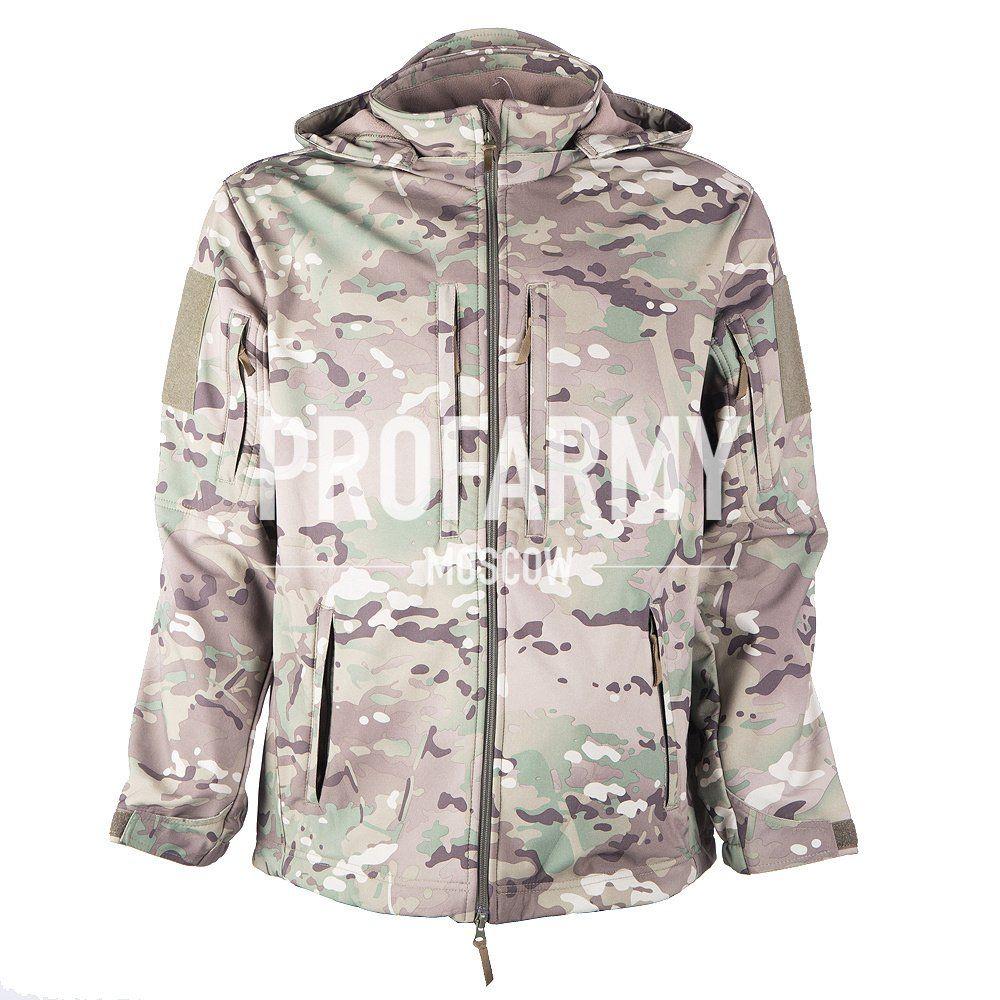 Куртка Mistral XPS12-4 Softshell мультикам, Куртки из Softshell и Windbloc - арт. 1052330329
